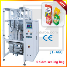 JT-460 puffed snack food machine/chips snack packing machine
