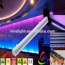 24x3W RGB 3in1 led bar wall wash IP65