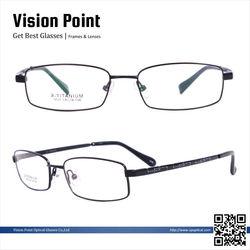 New Model Men Memory Metal Optical Frames Wholesale