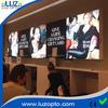 LED frameless backlit aluminum fabric frame, LED tension fabric light box display