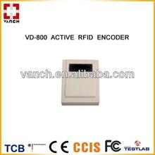 2.45G Active RFID Desktop Reader for write/modify tag information