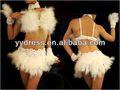 أداء رائع الريش راقصة ملهى ليلي worldcup رومبا السالسا اللاتينية الرقص الشرقي ارتداء