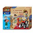 Coloração de veludo conjunto para meninos/meninas- artes e ofício kits para crianças( oem igualmente bem-vindos)