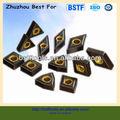 Carboneto de tungstênio pastilhas de torneamento/bi- revestimento de cor wnmg