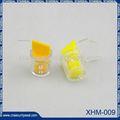 Xhm-009 sellos de plástico de la felpa de bloqueo del sello