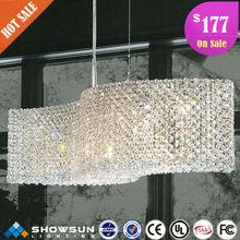 Crystal modern chandelier pendant lights