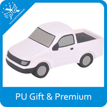 low price new style pu toy cars advertising logo printed top quality pu stress car