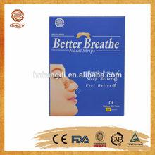 Manufacture! Anti-snoring Nasal Strips, Snoring Stopping Anti Snore Nasal Strip, Better Breathe Nasal Strips with CE certificate