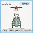 Double disc flat gate valve
