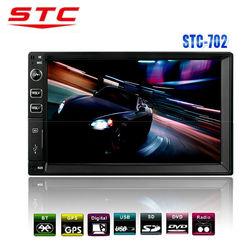 2014 hot sale Automotive Accessories Car audio gps 2 din cheap STC-702