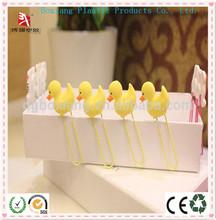 Begin School animal pvc bookmark / rubber paper clip / pvc paper clip