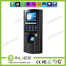 Economical TFT Screen 1000 Employee TCP/IP Internet Fingerprint Biometric Door Access Locking(UT20)