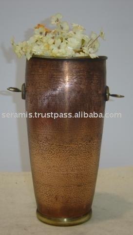 Long Concave Vase