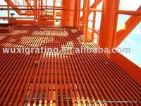 grating flooring, used on the firefighting walkway, catwalks
