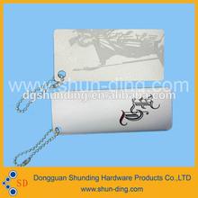 2014 Wholesale Aluminum China Hang Tag For Clothing