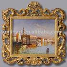 Antique gold photo frame