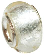 costume jewelry beads silver core big hole beads