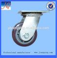 200mmindustrial del eslabón giratorio lanzador pesado rueda de hecho de los pp cubierta de la pu