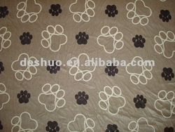 2012 printed fleece blanket