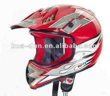 Huadun off road motorcycle helmet, ABS racing helmet HD-801