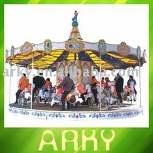 Commercial Electric Park Amusement Equipment - Merry Go Around