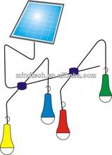 2015 new design solar lantern with mobile charger solar lighting kit