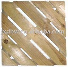 Wooden Decking Floor Interlocking Tiles Garden Deck Slab