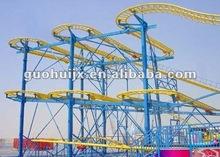 outdoor amusement park rides small roller coaster