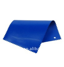 Anti-cold blue 1000D PVC coated tarpaulin fabric for truck cover