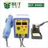 BEST-898d+ 2 in 1 hot air soldering station for mobile phone repairing