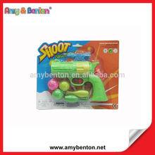 New Plastic Toy Ping Pong Ball Bullrt Gun Soft Air Gun
