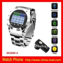 watch mobile phone with 1.3pix Camera and bluetooth function