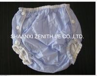 2014 hot sale PVC plastic diaper pant