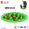 Import plastic dog bowl ,Green silicon dog bowl ,silicon pet bowl manufactory