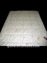 camel wool dyed quilt and comforter