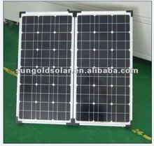 mono folding solar panel price130w 2x65W with bosch cells