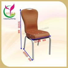 Special design flexible backrest aluminum stackable conference chair YC-C61