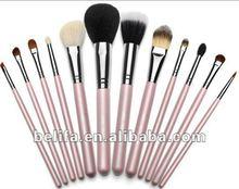 Custom Pink Professional Makeup Brush sets Free Sample