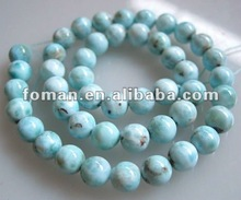 10mm AB+ grade larimar beads