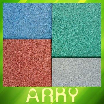 ... qualità di gomma pavimento di piastrelle per esterni parco giochi