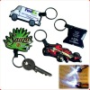 custom promotion pvc key chain led
