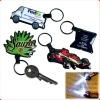 custom promotion pvc key chain led