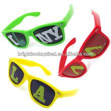 2013 Fashion Nightclub Sunglasses, Party Shades, Custom Logo On Printed Lenses Stickers Sunglasses (BSP2836)