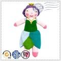 venta caliente promoción de alta calidad de moda hermosa muñeca de ganchillo hecho a mano