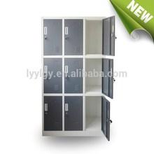 School taquillas 9 puertas de los gabinetes de almacenamiento / Euloong muebles de acero