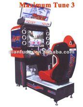 Arcade car racing game machine / Maximum tune racing car machine