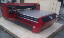 Led uv stampante flatbed legno impresso stampante di vetro di cristallo, abs, acrilico, metallo, pietra, pelle, cotone metro zx-uv12525 stampante