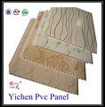 Plástico pvc tectos falsos, teto do pvc projetos, pvc tectos falsos na china