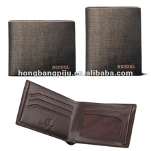 Best selling Genuine Leather Wallets as Promotional Gifts