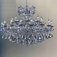 2014-5 star hotel Lobby lighting silver crystal chandelier